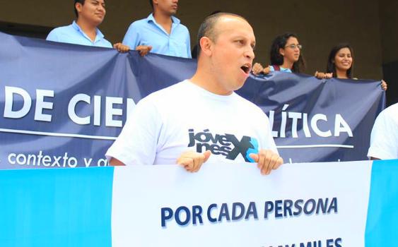 """Pedro Cruz: """"En Guatemala estamos viviendo una primavera democrática"""""""