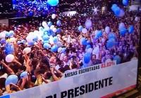Mauricio Macri será el presidente con mayor cantidad de votos desde 1983