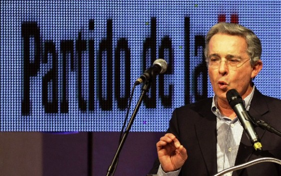 Discurso de Álvaro Uribe en la asamblea de la U