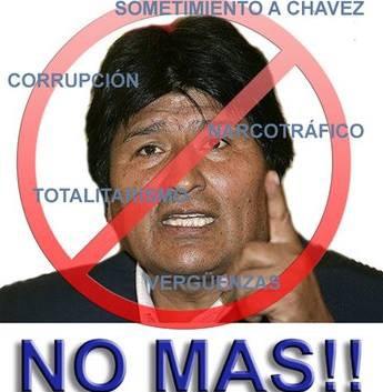 """Referendo en Bolivia: Afirman que ganó el """"NO"""""""