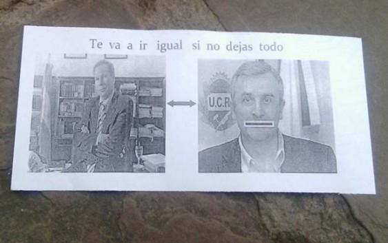 El senador radical Gerardo Morales denunció que fue amenazado de muerte