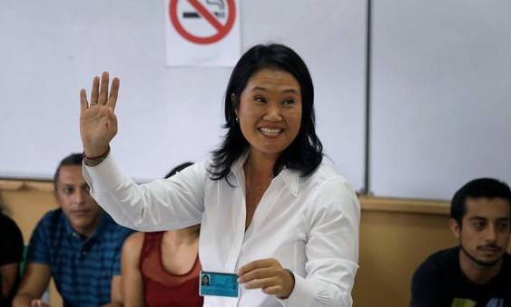 Según las bocas de urna, Keiko Fujimori ganó las elecciones presidenciales en Perú, pero deberá ir a segunda vuelta